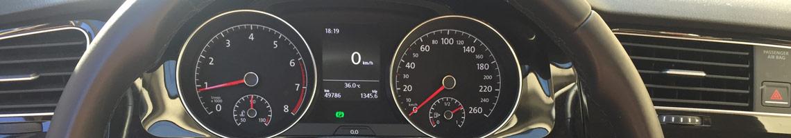 VW Golf 7 Innenraum
