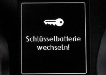 Die Golf 7 Schlüssel Batterie wechseln und anlernen | Anleitung + Keyless