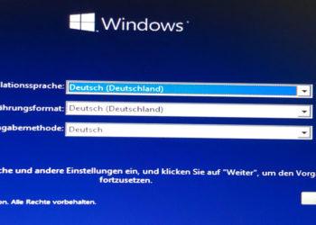 Windows 7/8/10 neu installieren auf SSD | per USB | ohne CD & ohne Key